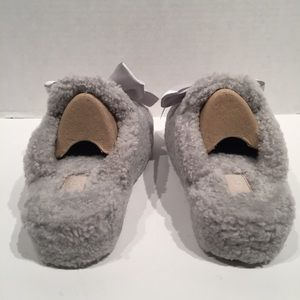 UGG Shoes - Ugg Addison Grey Curly Wool Silk Slippers